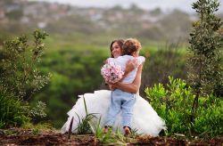 Como fazer que os seus filhos participem do seu casamento
