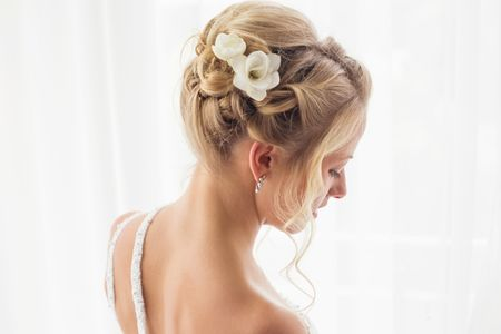 Escolher o penteado de noiva certo para a sua fisionomia