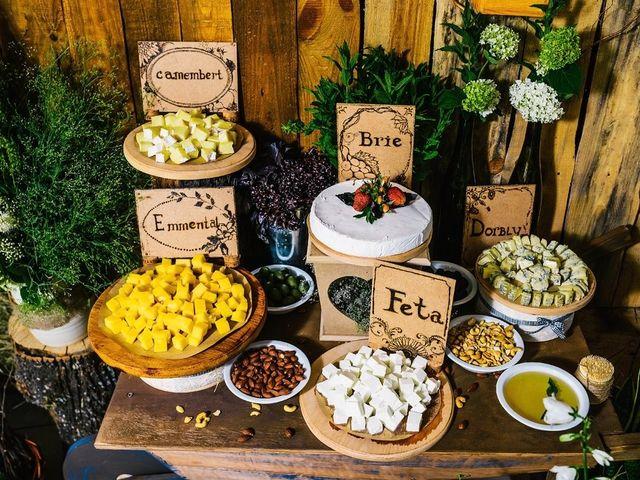 Ilha de queijos para o seu casamento