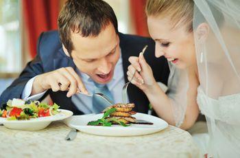 8 Ideias para não morrer de fome no seu casamento