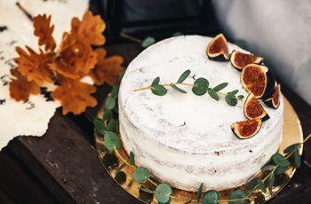 Sabor e beleza: bolo de figo ganha a preferência dos noivos