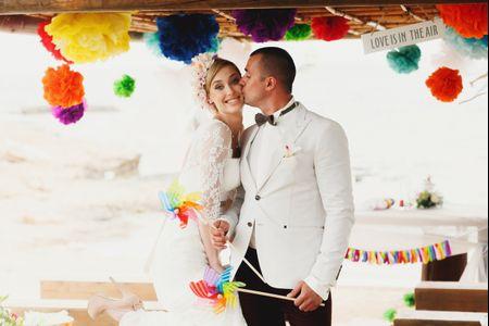 5 coisas que ningu�m comenta sobre a escolha das cores do seu casamento