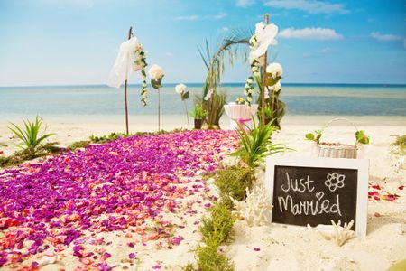 11 detalhes de decora��o para casamentos na praia