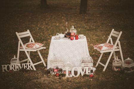 Sweetheart Table: Mesa especial s� para os noivos