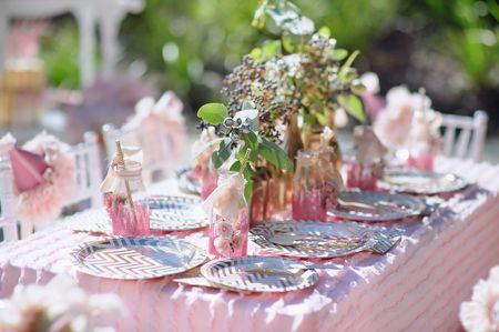 Um casamento em quartzo rosa, cor Pantone 2016