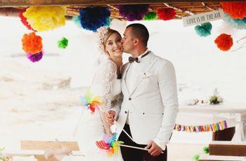 5 Coisas que ninguém comenta sobre a escolha das cores do seu casamento