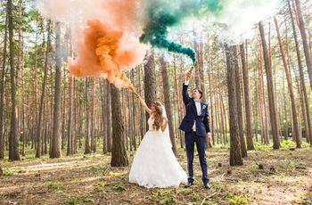 Smoke bombs: saibam usar fumaça colorida para criar fotos inesquecíveis