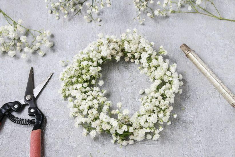 Super Como fazer uma coroa de flores EL82