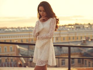 30 Vestidos simples para noivas que casam no civil