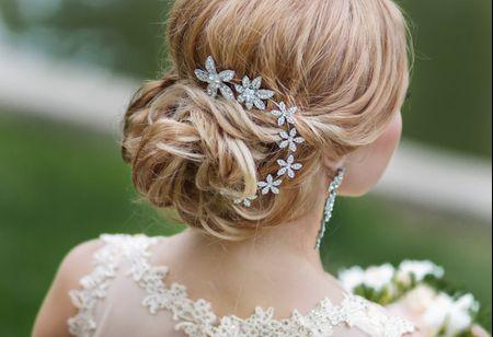 Look de noiva com acessórios em prata: inspire-se
