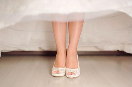23 Sapatos de noiva com renda