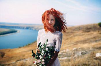 Tendências de coloração de cabelo para as noivas