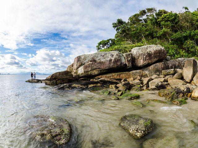 Ilha do Mel: primeira viagem como marido e mulher