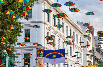 Lua de mel em Recife: explosão de cores e romance