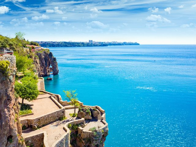Lua de mel na Riviera Turca: tesouro natural