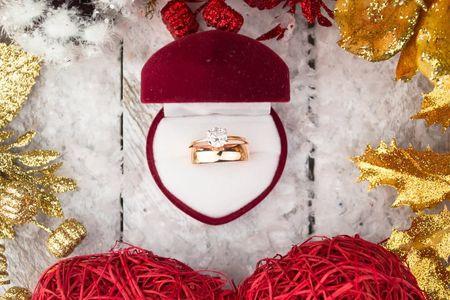 O pedido de casamento na virada do ano