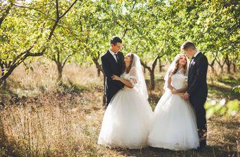 Casamento duplo: irmãos que se casam com uma única festa