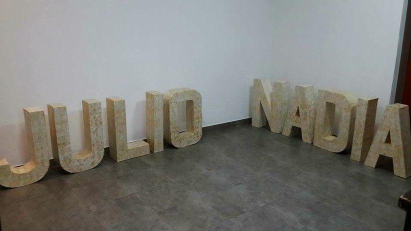 Decore o seu casamento com letras gigantes - Como hacer letras decorativas ...