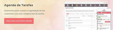 Organize o seu casamento com a agenda de tarefas de casamentos.com.br