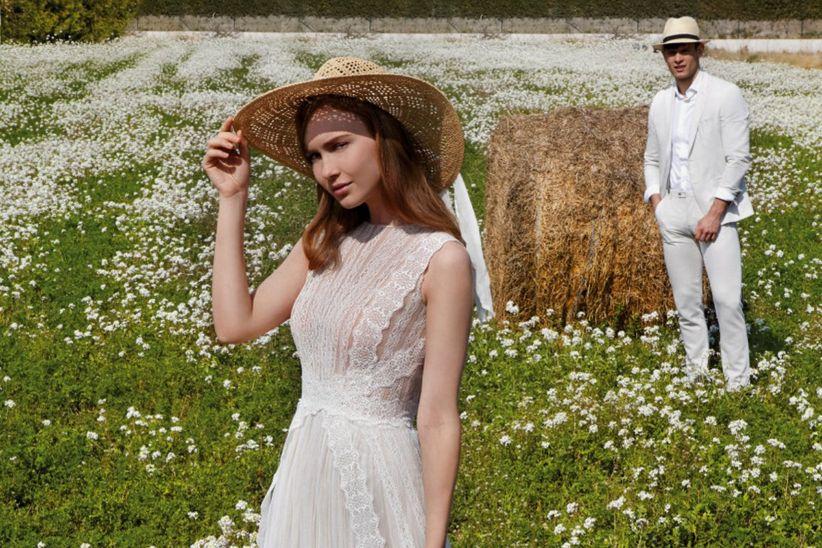 Noivas de chapéu  saiba o estilo que melhor combina com você 8386770536b