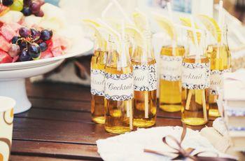 Coquetéis sem álcool para o seu casamento