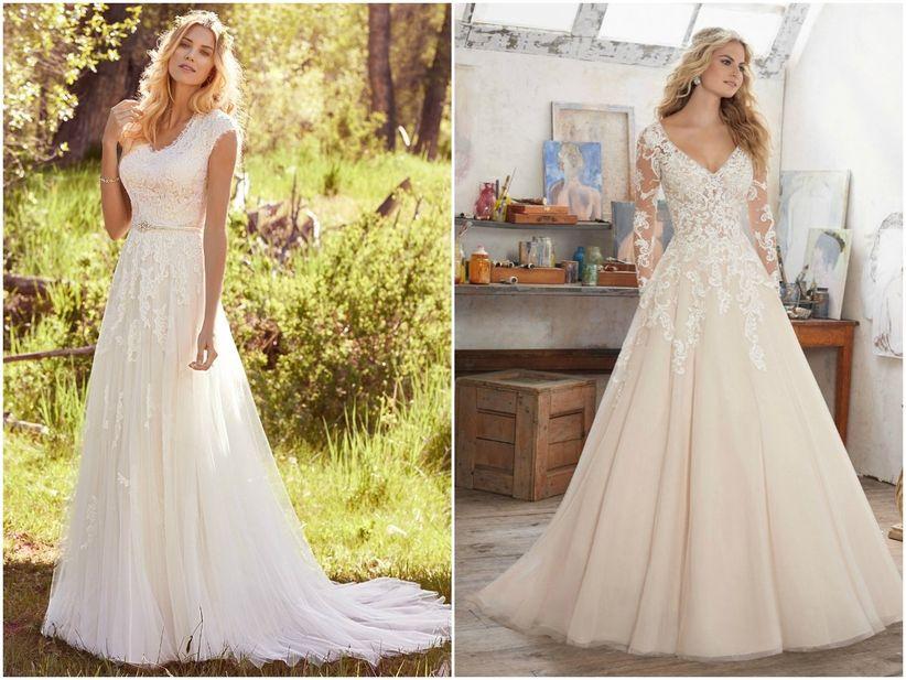e512a2064b 25 vestidos de noiva para mulheres com seios grandes