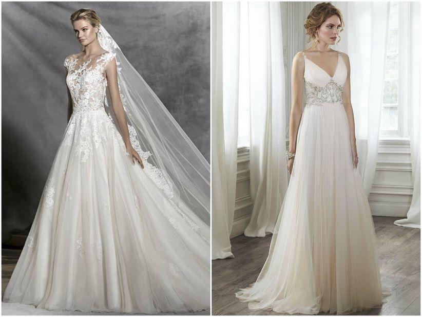Conhecido Vestidos para noivas com quadril largo BJ92