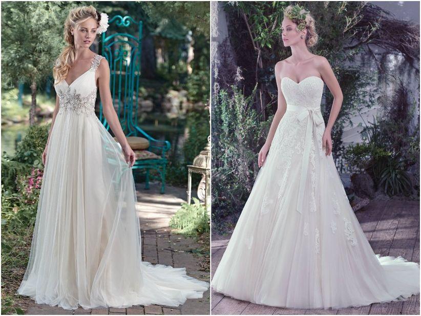Muito Vestidos para noivas magras BY03