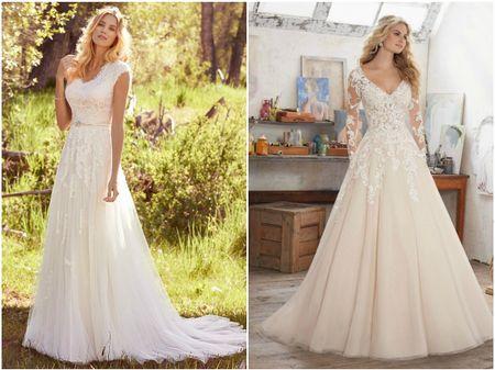 25 vestidos de noiva para mulheres com seios grandes