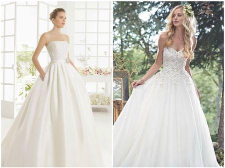 10 vestidos de noiva com saias cheias de volume