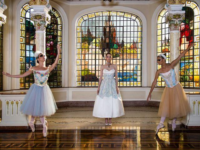 Vestidos de noiva Pó de Arroz 2017: beleza lúdica e autência