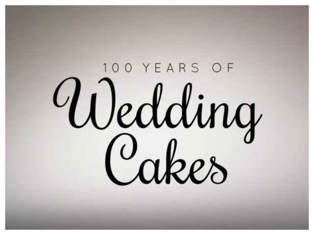100 anos de bolos de casamento