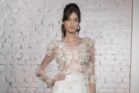Vestidos de noiva Carol Hungria: inspiração que vem do mar
