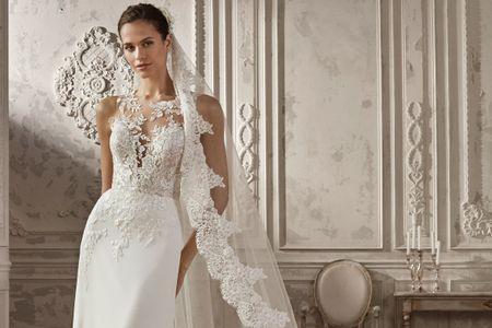 Véu de noiva Catedral: dicas para ficar impecável com esse modelo