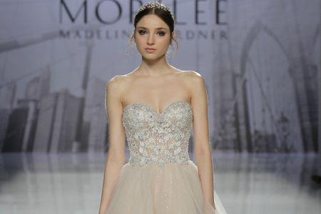 Vestidos de noiva Mori Lee: princesas modernas e brilho fascinante na coleção 2018