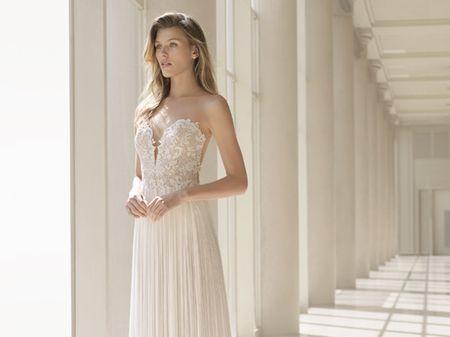 60 Vestidos de noiva em corte reto: escolha o ideal para você