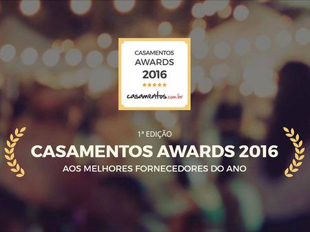 Casamentos.com.br entrega os pr�mios Casamentos Awards 2016