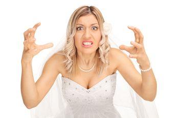 10 falhas que podem te transformar em uma verdadeira Bridezilla