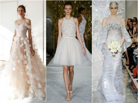 Tend�ncias para noivas no New York International Bridal Week 2016