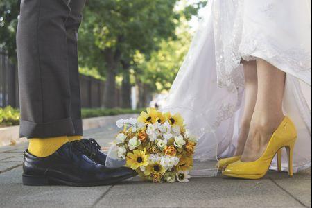 Orlando e Francisca e seu casamento amarelo