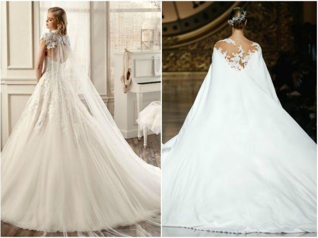 Capas para vestidos de noiva