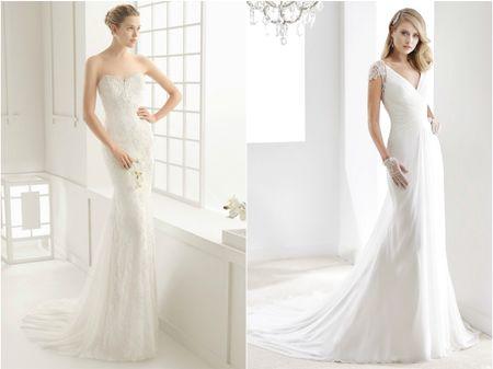10 vestidos de noiva que te far�o parecer mais alta