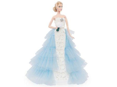 A Barbie noiva de Oscar de la Renta