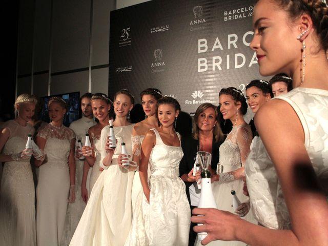 Terça-feira começa o Barcelona Bridal Fashion Week, acompanhe!