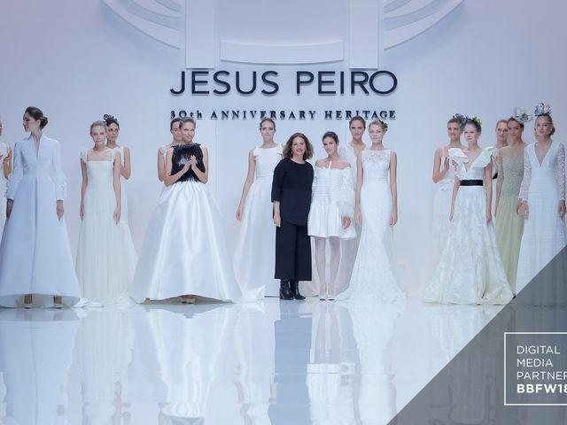 Vestidos de noiva Jesús Peiró 2019: coleção Heritage
