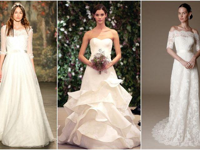 Vestidos de noiva New York Bridal Week 2016