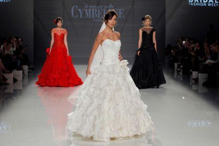 Cymbeline 2018: vestidos de noiva que surpreenderam na passarela dos desfiles esse ano