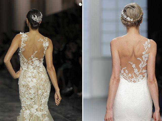 A nova tendência em vestidos de noiva Tattoo Lace
