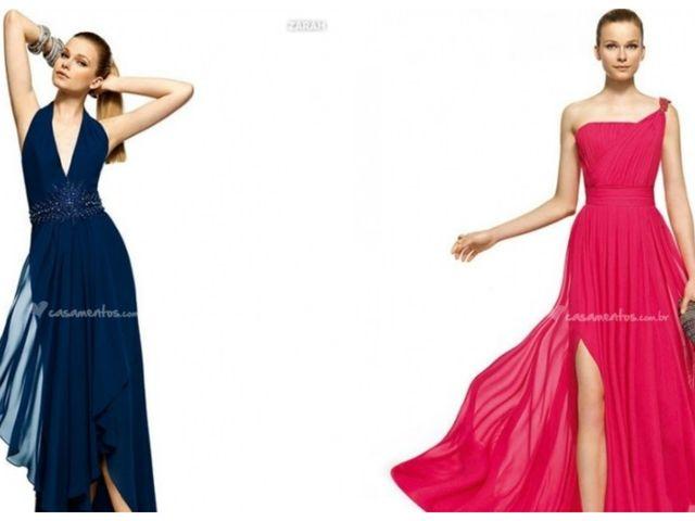 Os vestidos acinturados de Pronovias