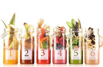 Cuide da dieta com sucos detox e energizantes